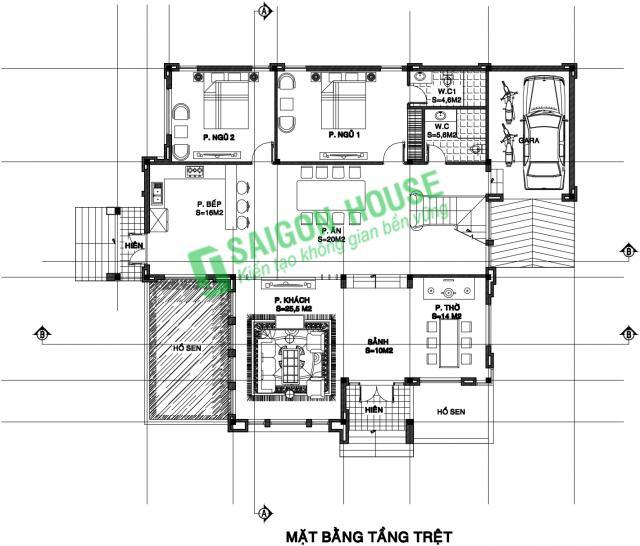 sai gon house