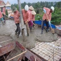 Công tác đổ bê tông