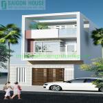 Thiết kế & thi công nhà phố 2 tầng Nguyễn Văn Tăng, Quận 9, Tp.Hcm