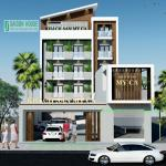 Thiết kế & Thi công khách sạn Mỹ Ca Cam Ranh Khách Hòa