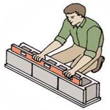 Kĩ thuật xây gạch bê tông, xây tường gạch block