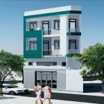 Thiết kế & thi công nhà phố 4 tầng trên khu đất xéo Phạm Ngũ Lão, Gò Vấp, TP.Hcm