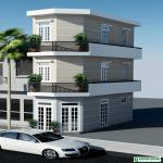 Thiết kế & thi công nhà phố 3 tầng diện tích nhỏ Đinh Tiên Hoàng, Quận Bình Thạnh