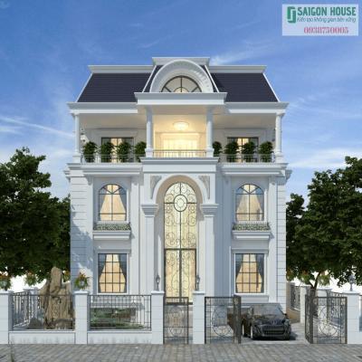 Vì sao nên lựa chọn kiến trúc biệt thự phong cách tân cổ điển?