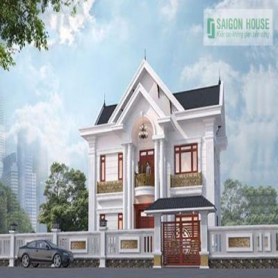 Thiết kế kiến trúc nhà mặt tiền 12m đẹp cho năm 2020