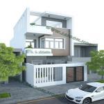 Thiết kế & thi công nhà phố hiện đại 3 tầng Dak Lak