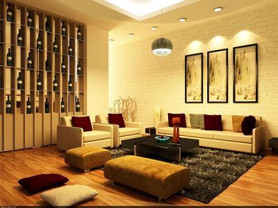20 Mẫu phòng khách cá tính với sơn màu vàng