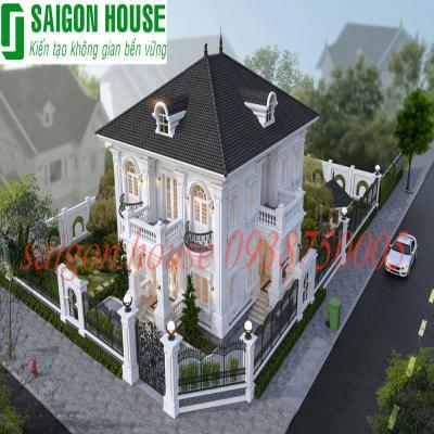 Thiết kế & thi công biệt thự cổ điển